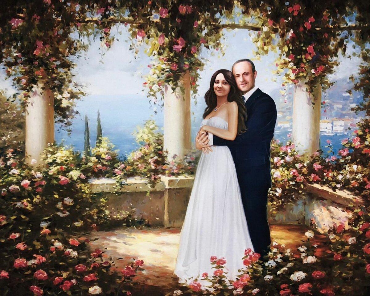 работать фотомонтаж свадебных фотографий архивной кисточкой красишь