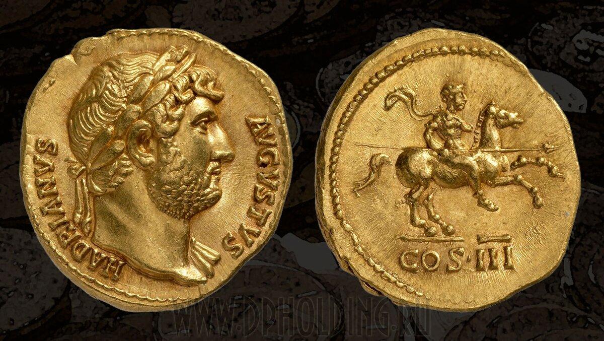 фото римских монет из бронзы отель, один