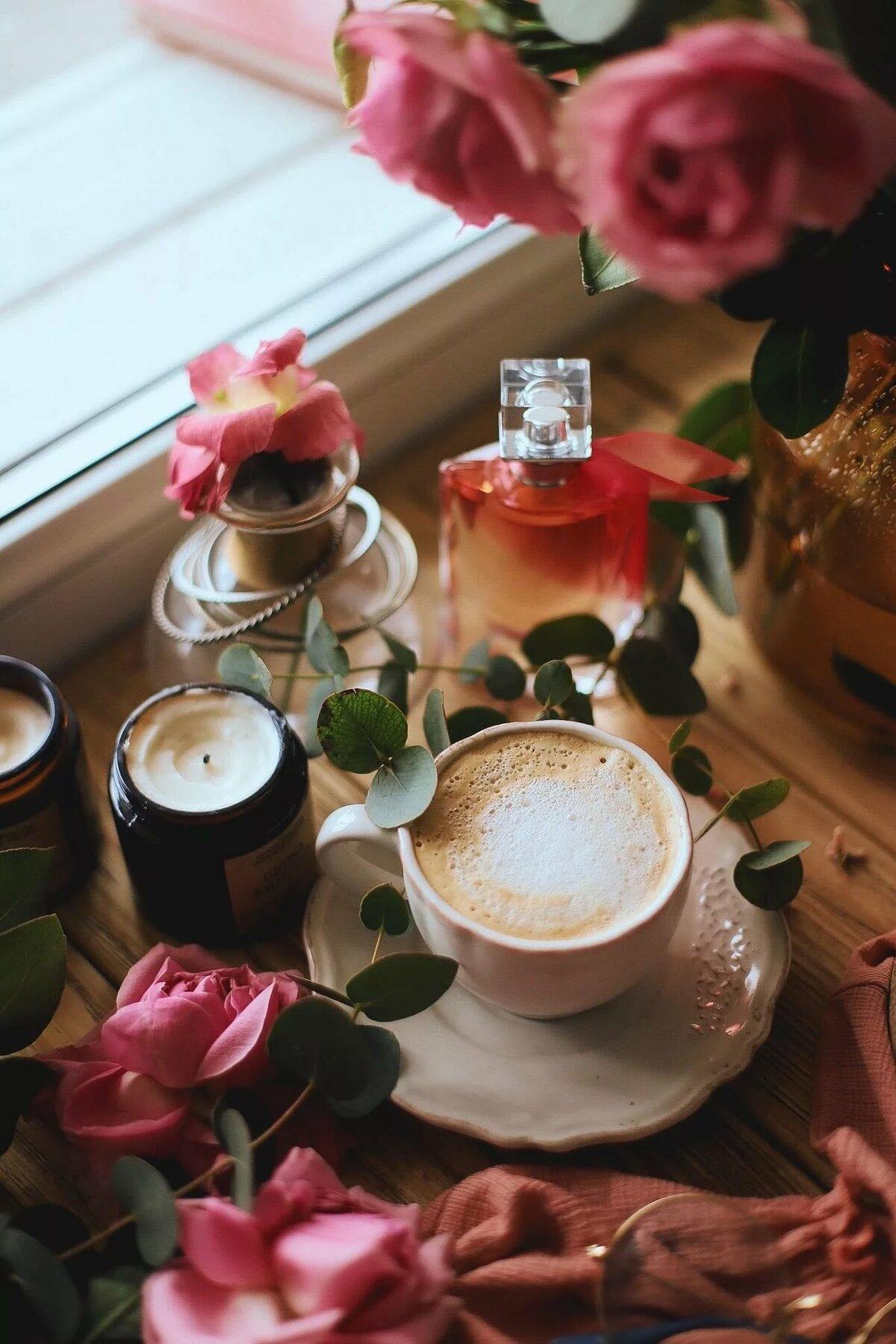 тени красивые фото цветы и кофе интернет-магазине