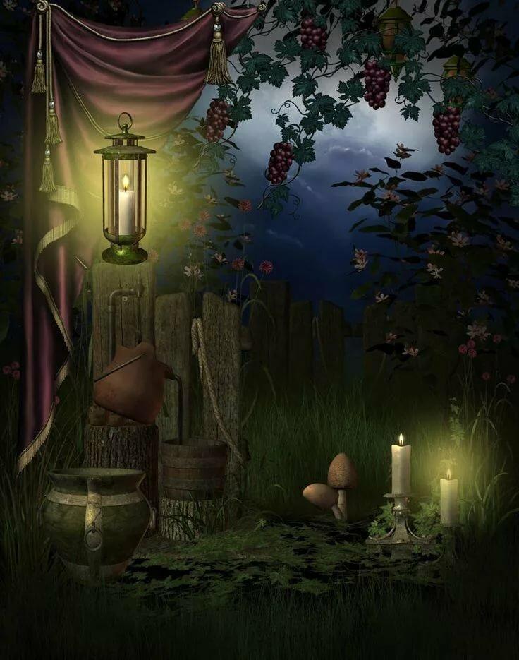 Сказочные ночные картинки
