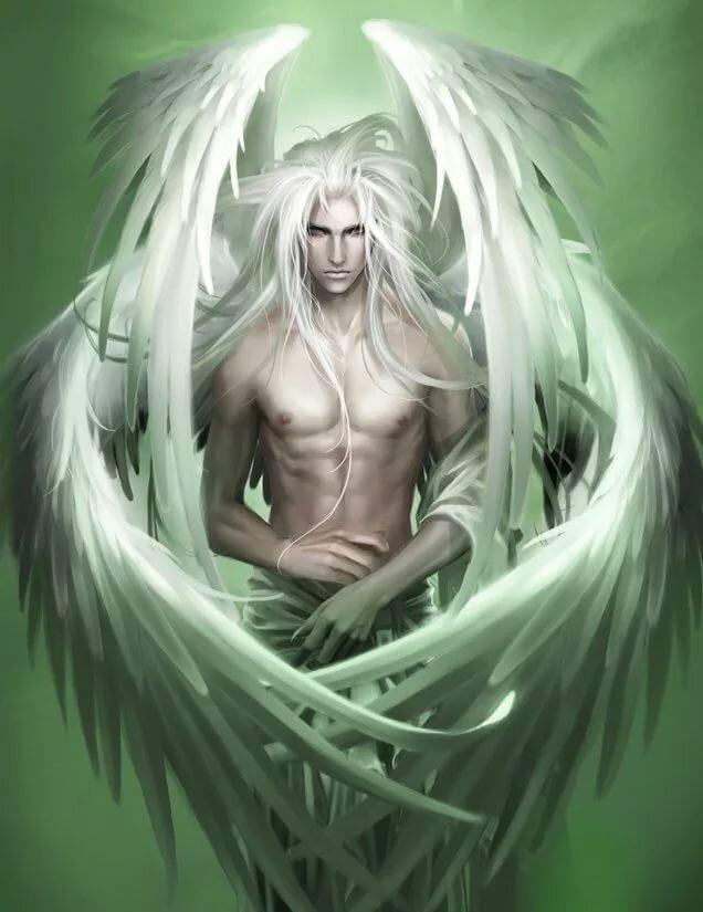 разница ангел седой картинки отражает