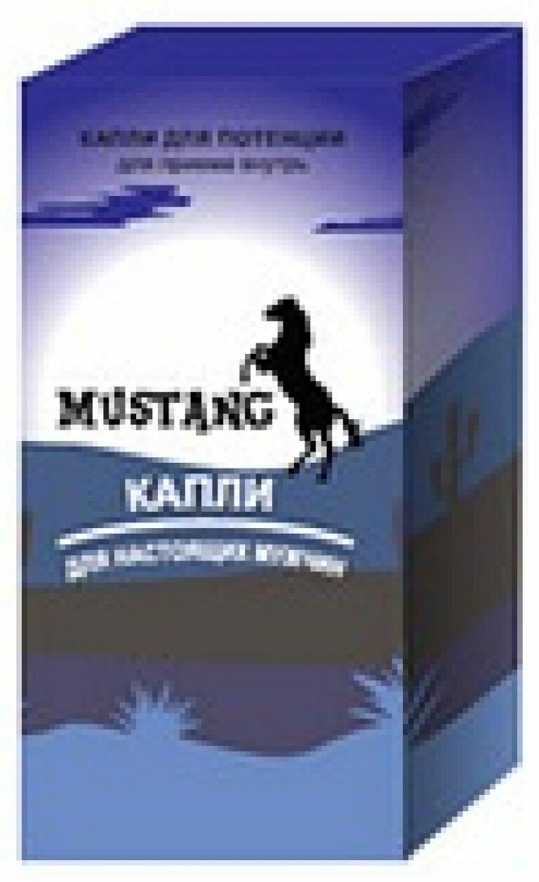 Mustang капли для повышения потенции
