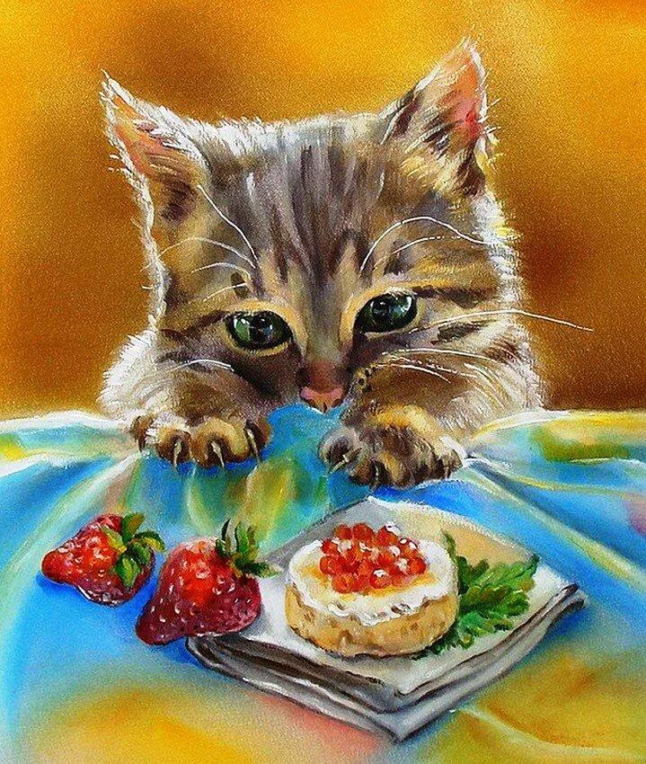 Русском языке, открытки на тему животные