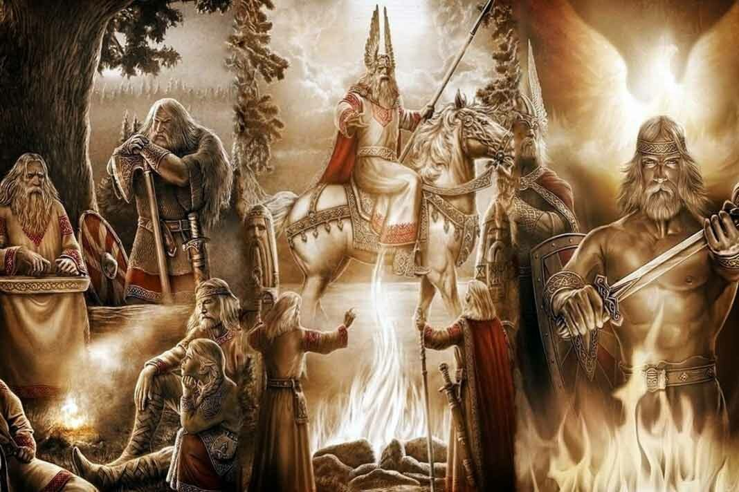Славянские древние картинки