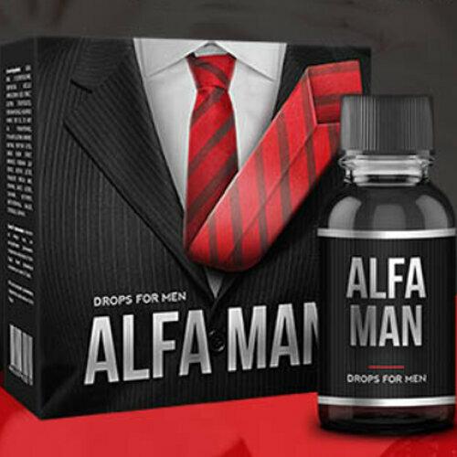 Alfa Man - капли для потенции в Краматорске