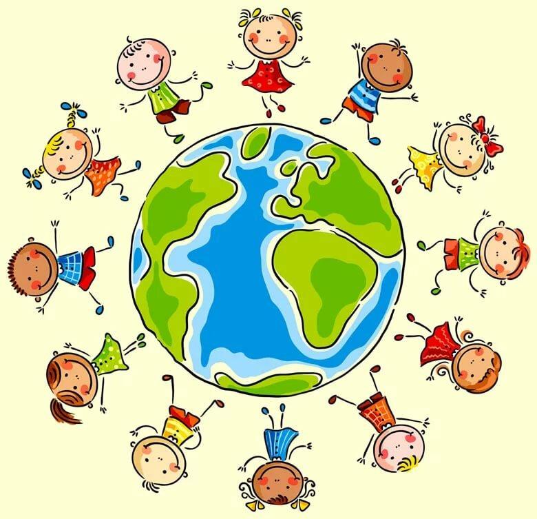 Человек земля картинки для детей