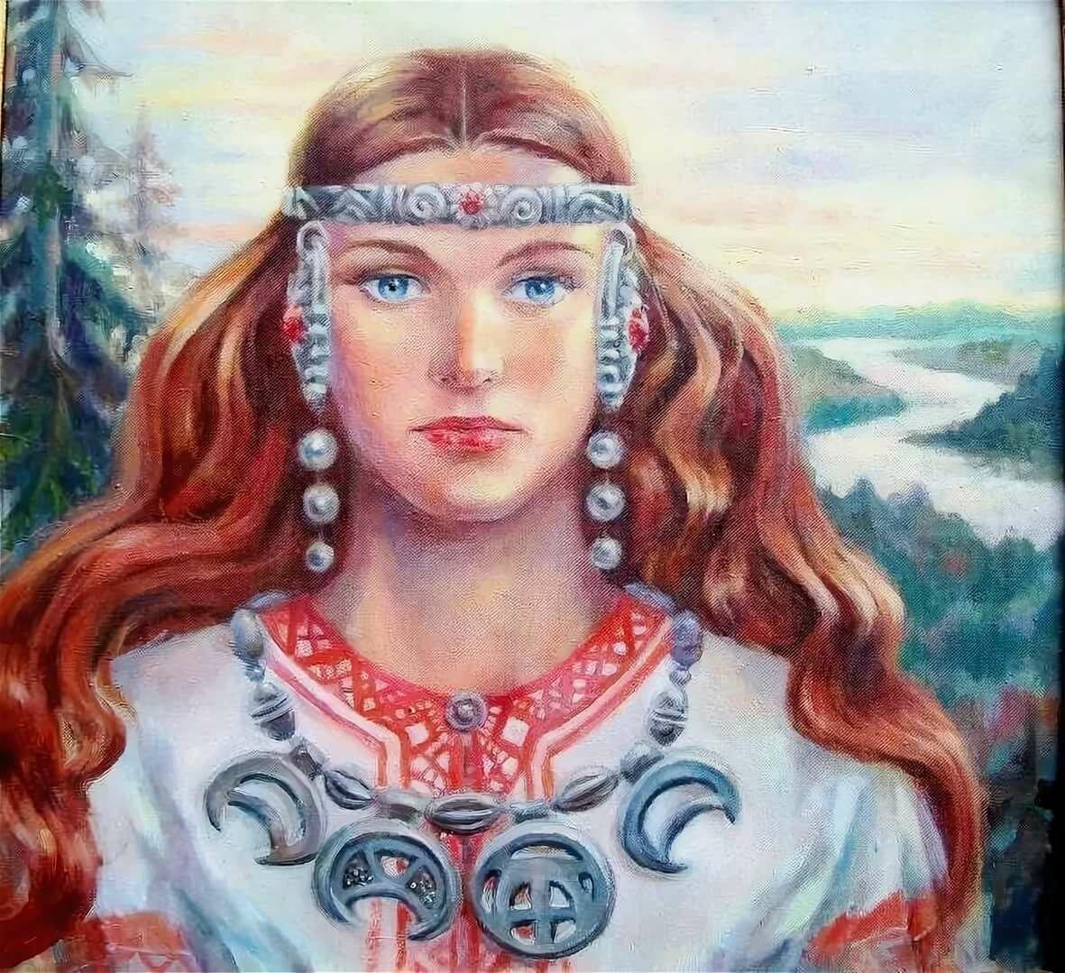 Картинки женщины древней руси