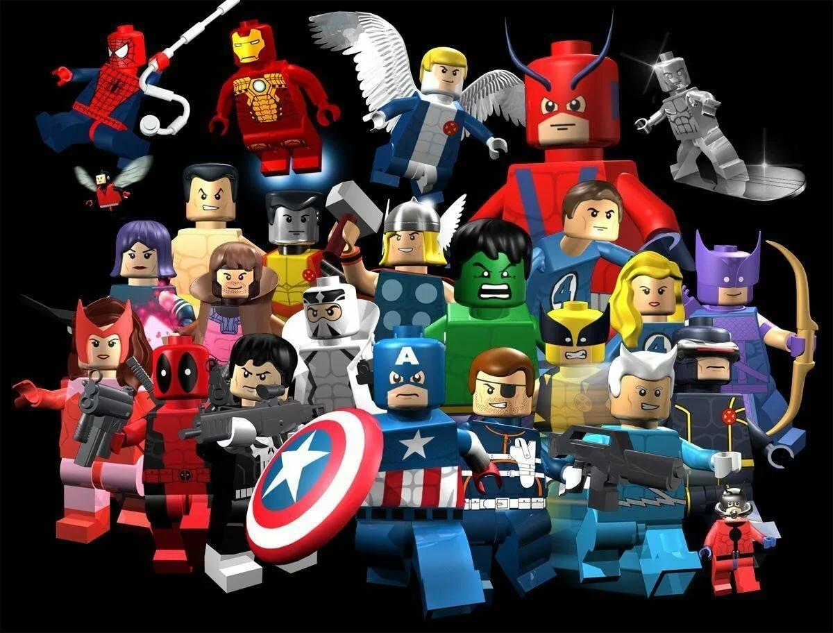 лего марвел супергерои