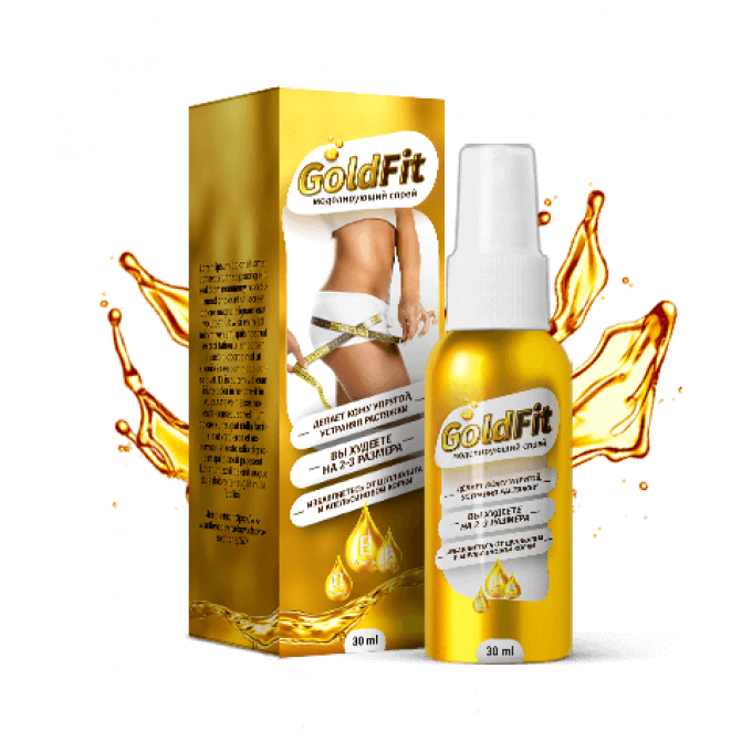 GoldFit спрей для похудения в Ангарске