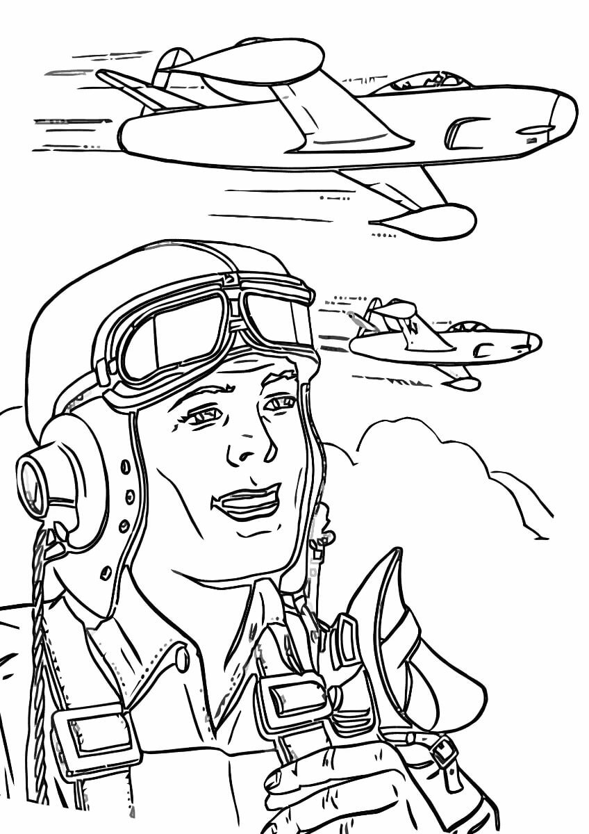 ваши летчики рисунок одним зум