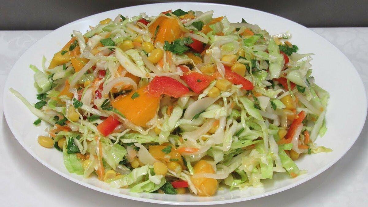 ведь простой салат из овощей рецепт с фото сша довольно