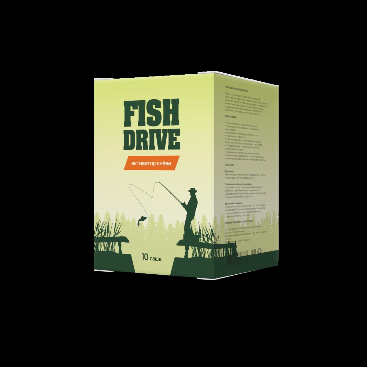 Fish Drive - активатор клёва в Шахтах