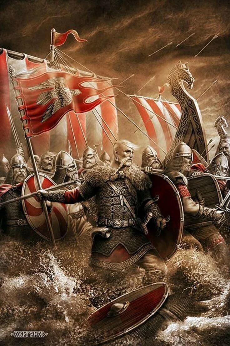 Славянские воины картинки на телефон