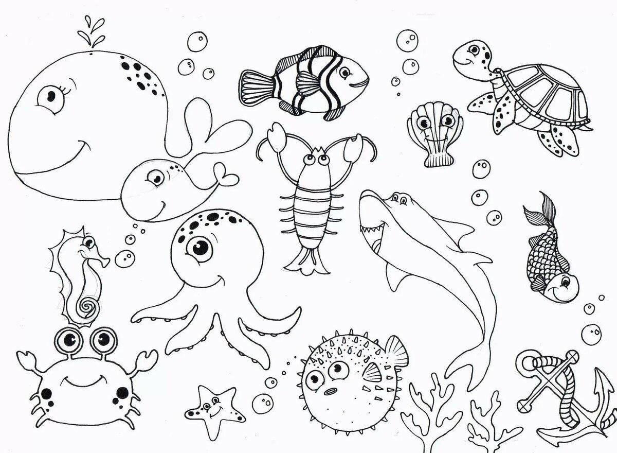 Рыбак раскраска распечатать бумажный