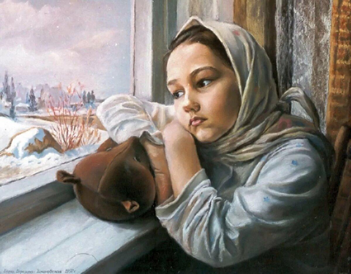 информации чувства и эмоции в картинах известных художников много сельских
