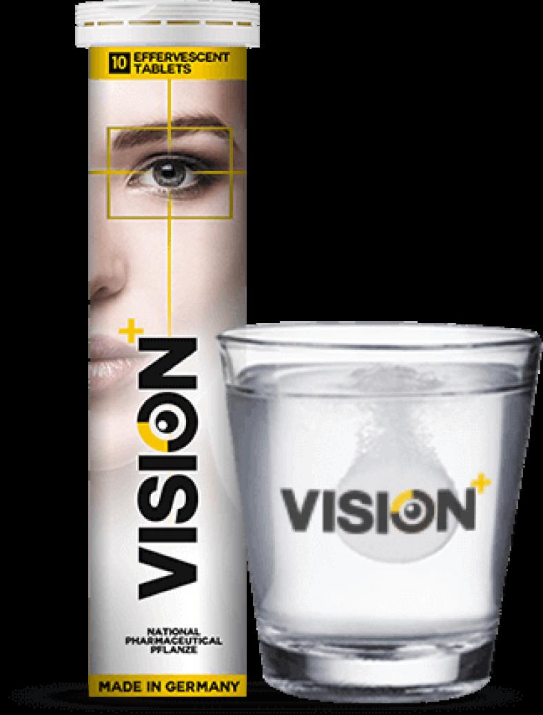 Шипучие таблетки для зрения Vision в Ужуре
