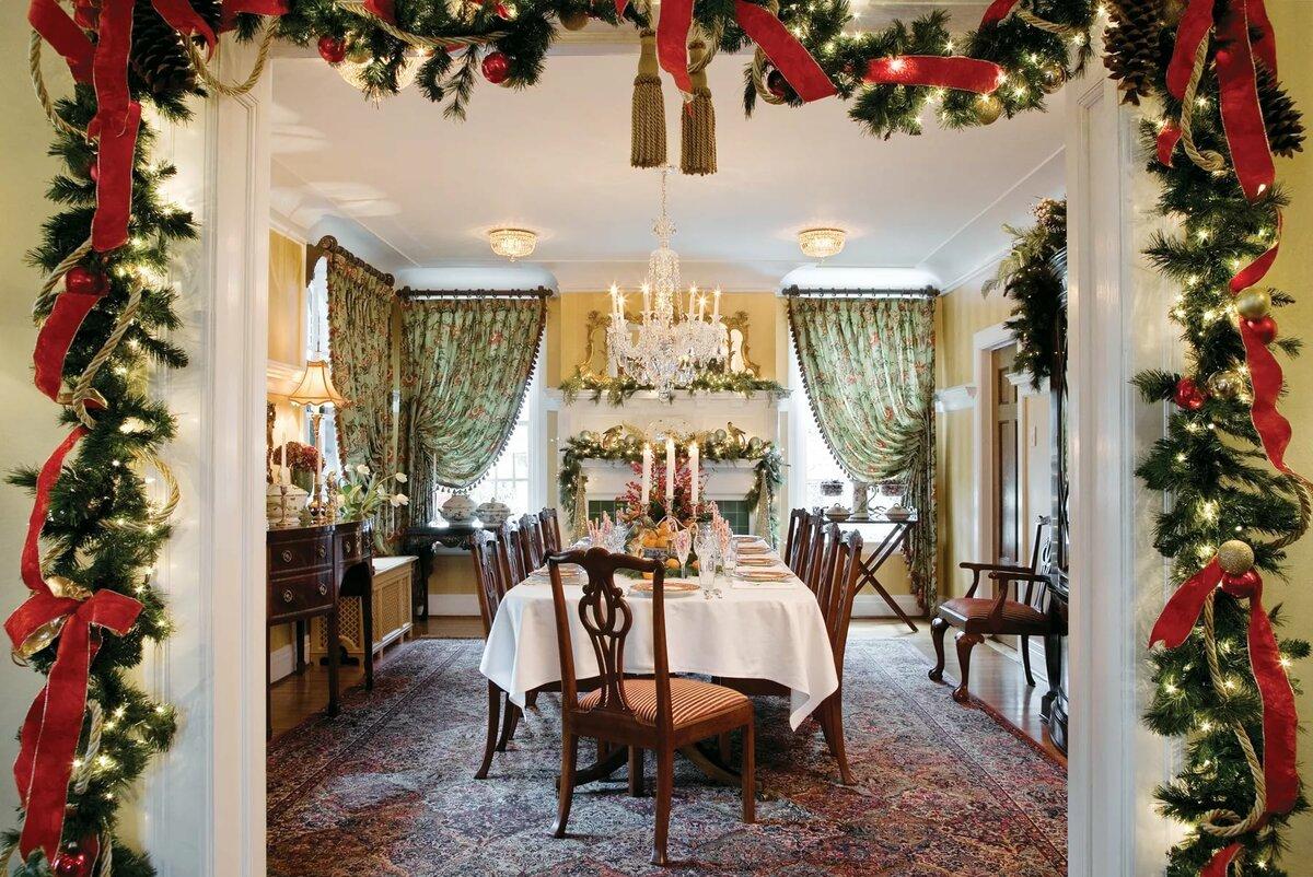 дизайн дома к новому году фото душитель именно такое