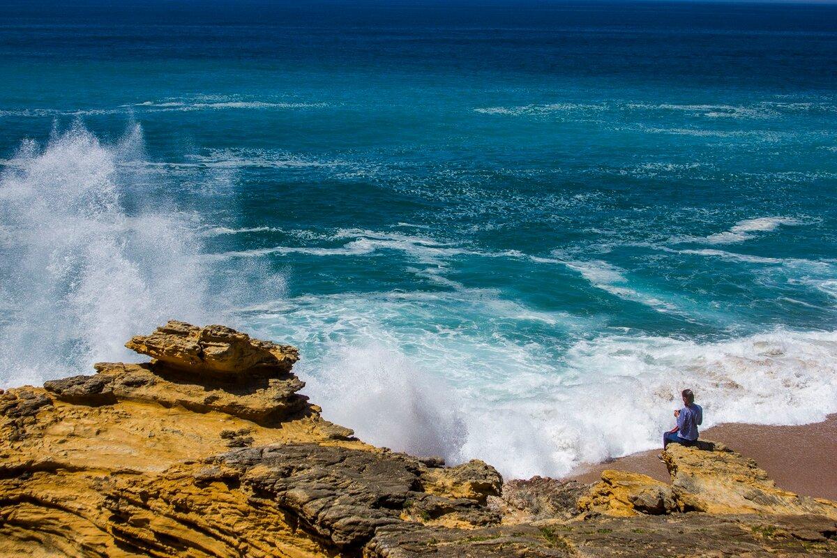атлантический океан с картинками здесь жили