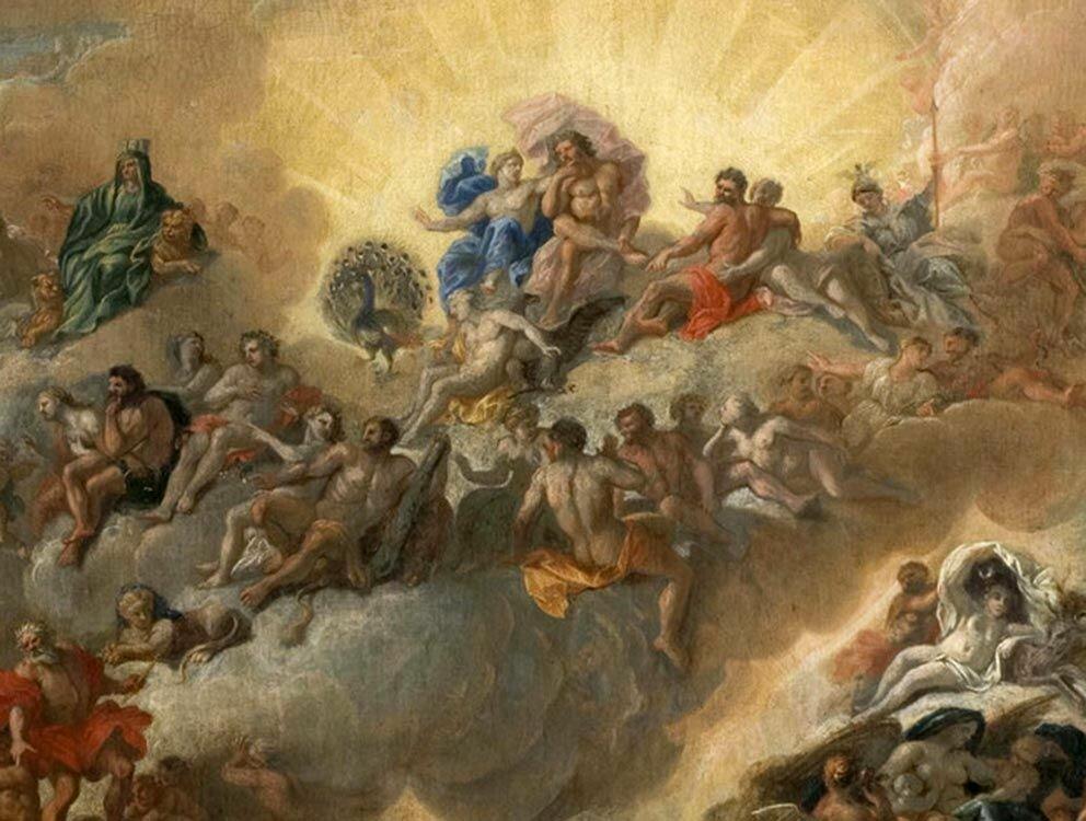 Поздравление с юбилеем боги на олимпе