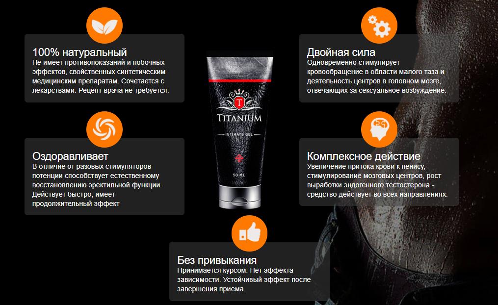 Titanium - крем для увеличения члена в Нальчике