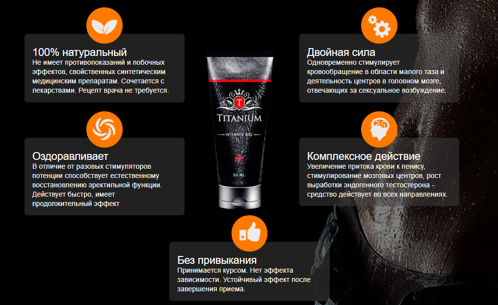 Titanium - крем для увеличения члена в Зубцове