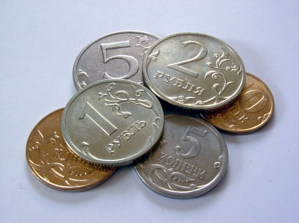 Картинки с монетами для детей