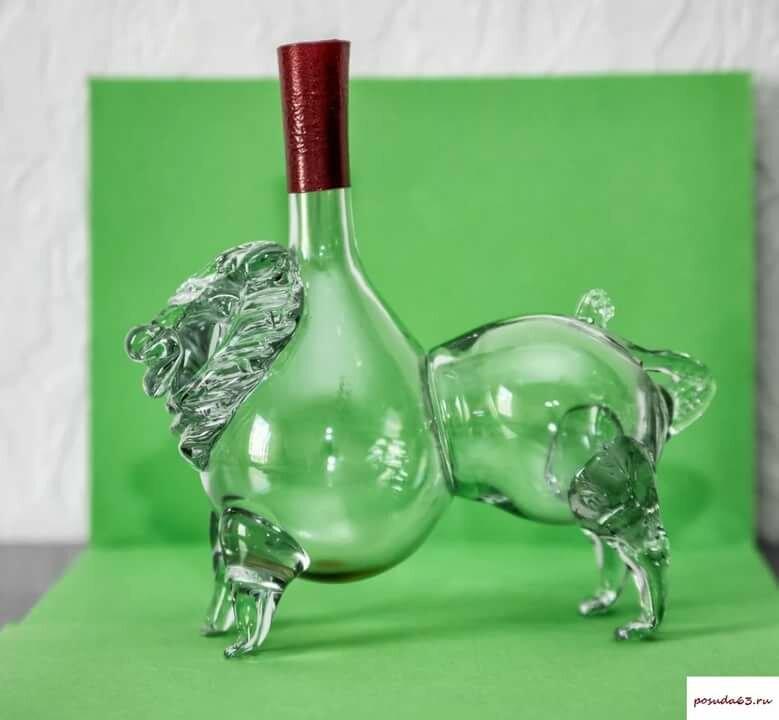 связи картинки необычные бутылки новым годом