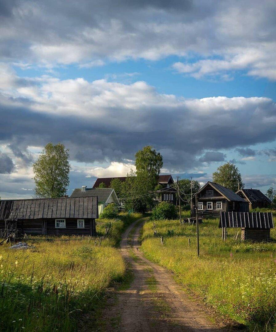 Картинки деревенской деревни