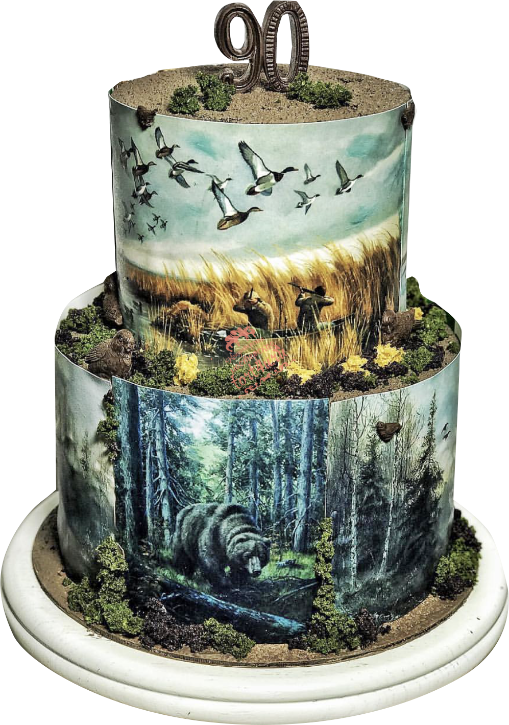 картинка торт охотнику