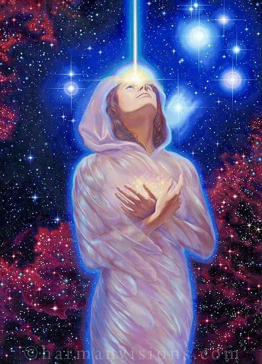 Картинка звезд с богом