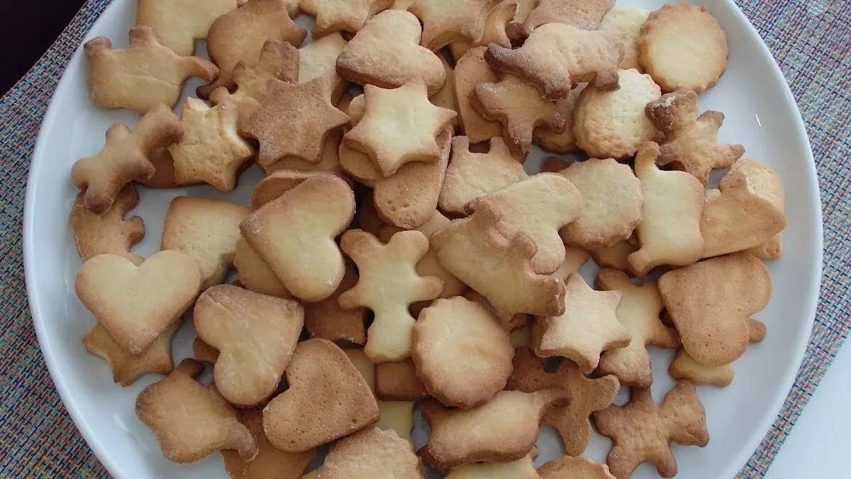 Рецепт песочного теста для печенья с фото