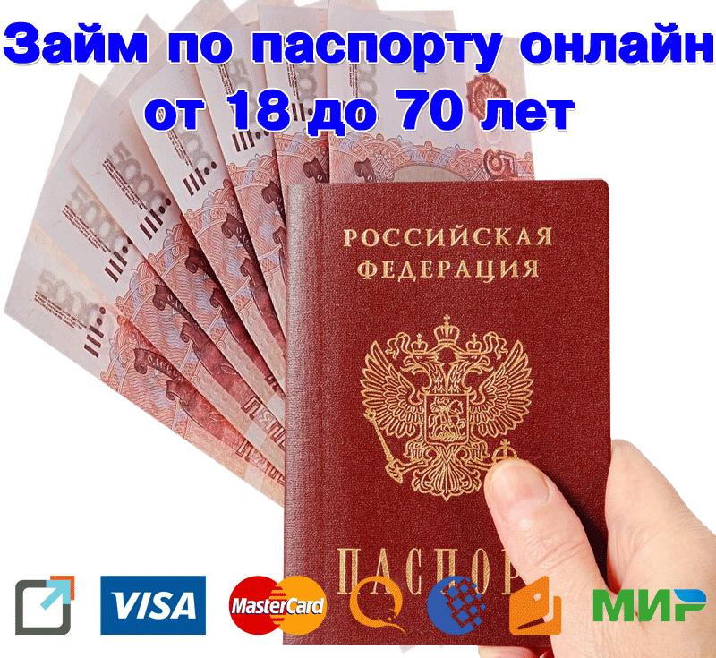 Кредит онлайн без паспорта на яндекс деньги