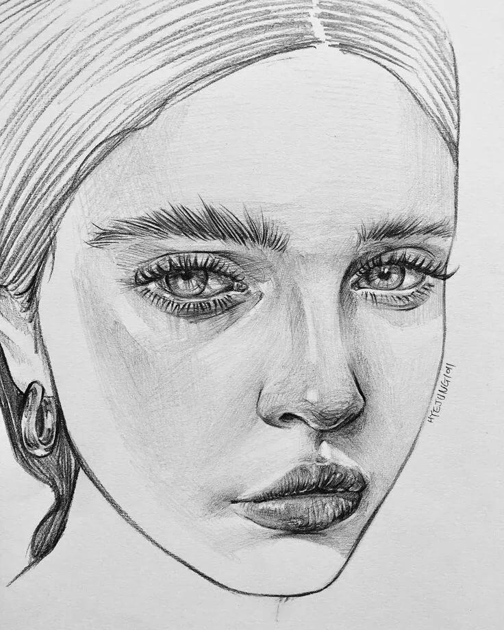 Картинки нарисованные человека