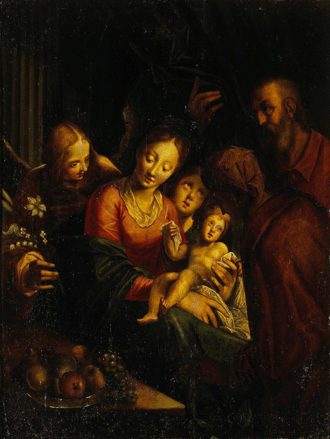 Ганс фон Аахен, Святое Семейство