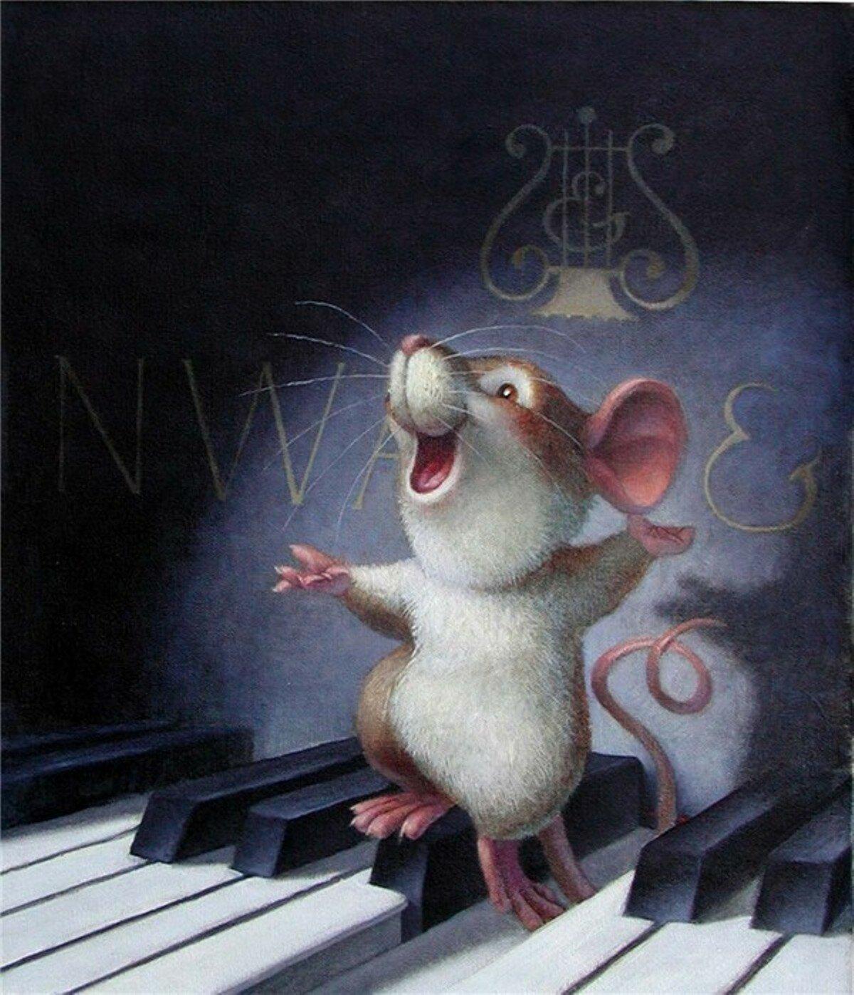 гиф поздравления с годом белой крысы лучших компактных