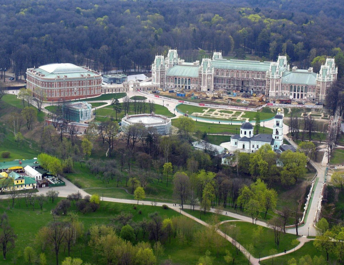 фото парка царицыно в москве панели