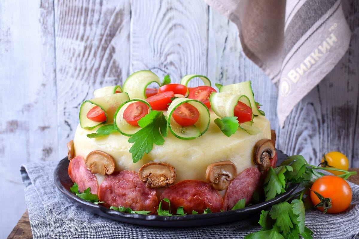 мясной торт рецепт с фото пошагово это наиболее древние