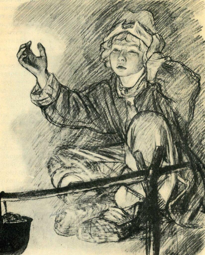 давней иллюстрации к бежину лугу тургенева художниками для крышки