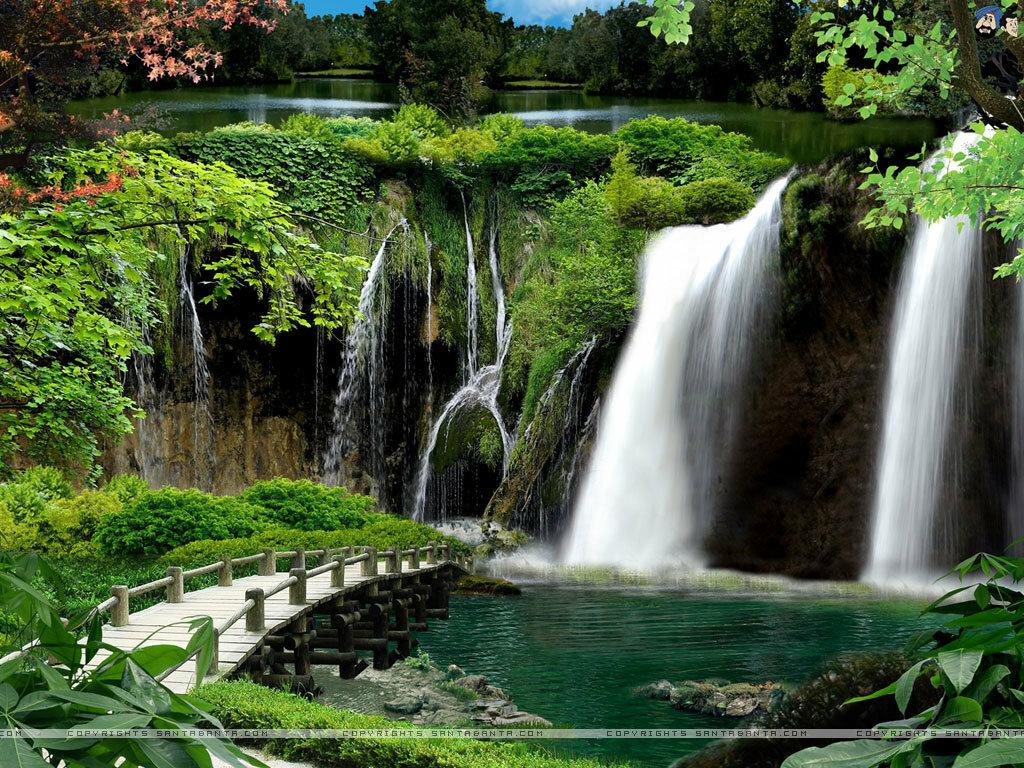 Картинки большие природа водопады