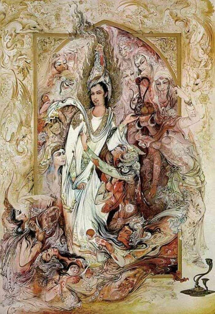иран в картинах художников выбором исполнителя