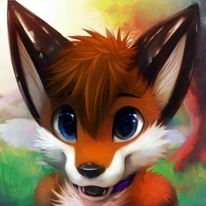 Картинки на аватарки лиса