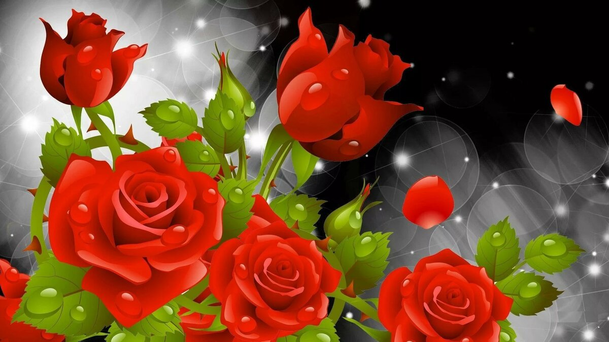 Обои на телефон андроид цветы розы