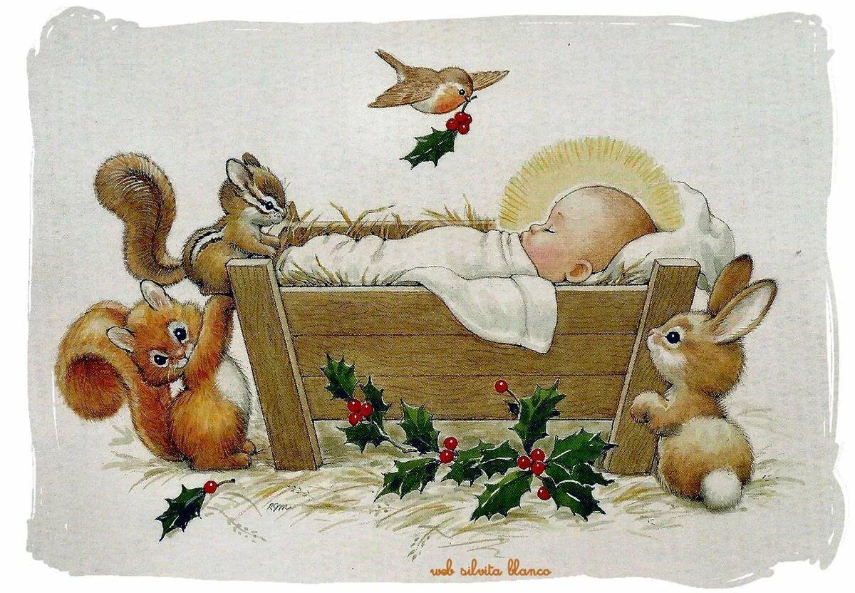 этим рождественские картинки с младенцем трегубенко