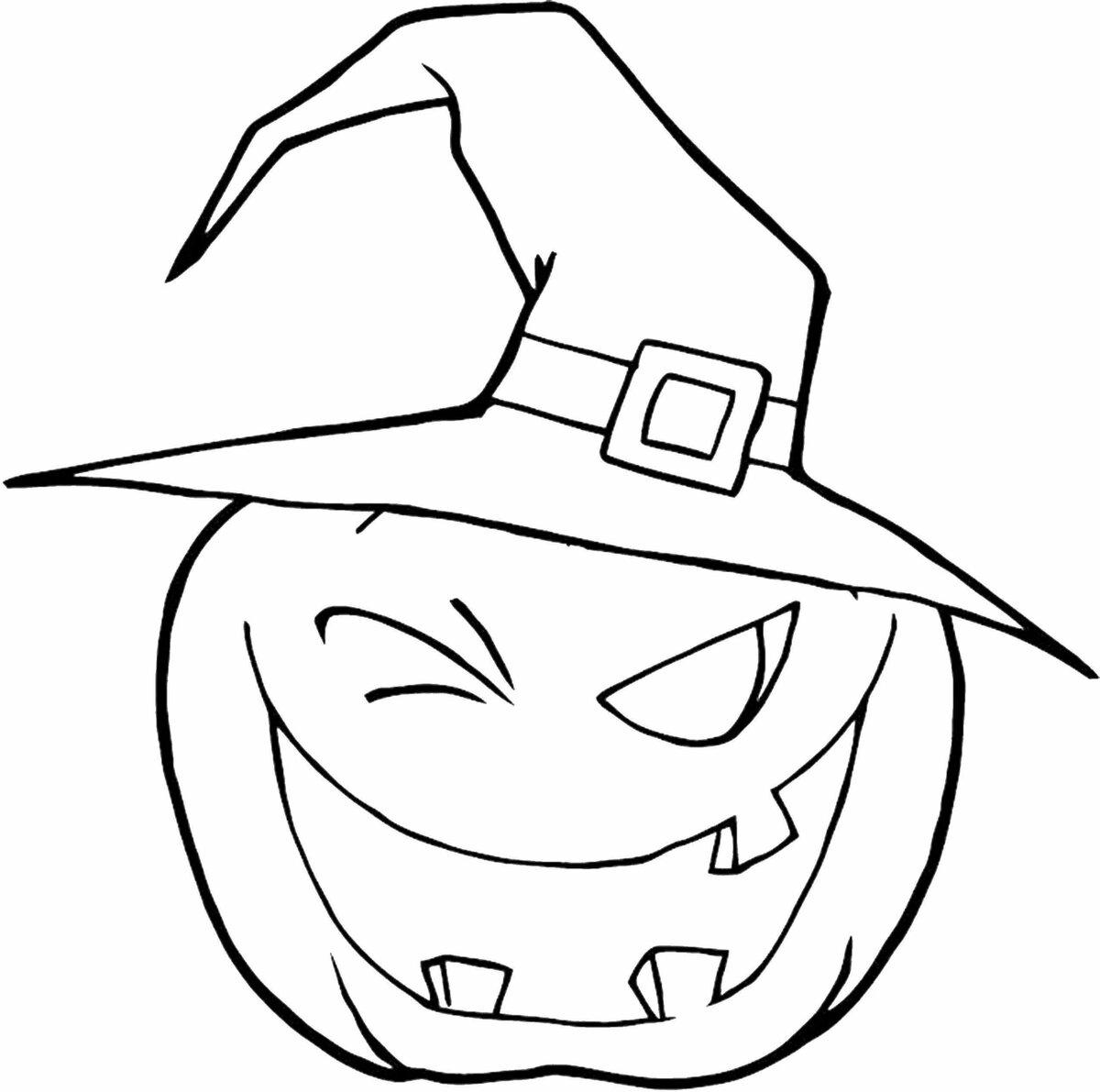 картинки для хэллоуина рисовать примеры курсор