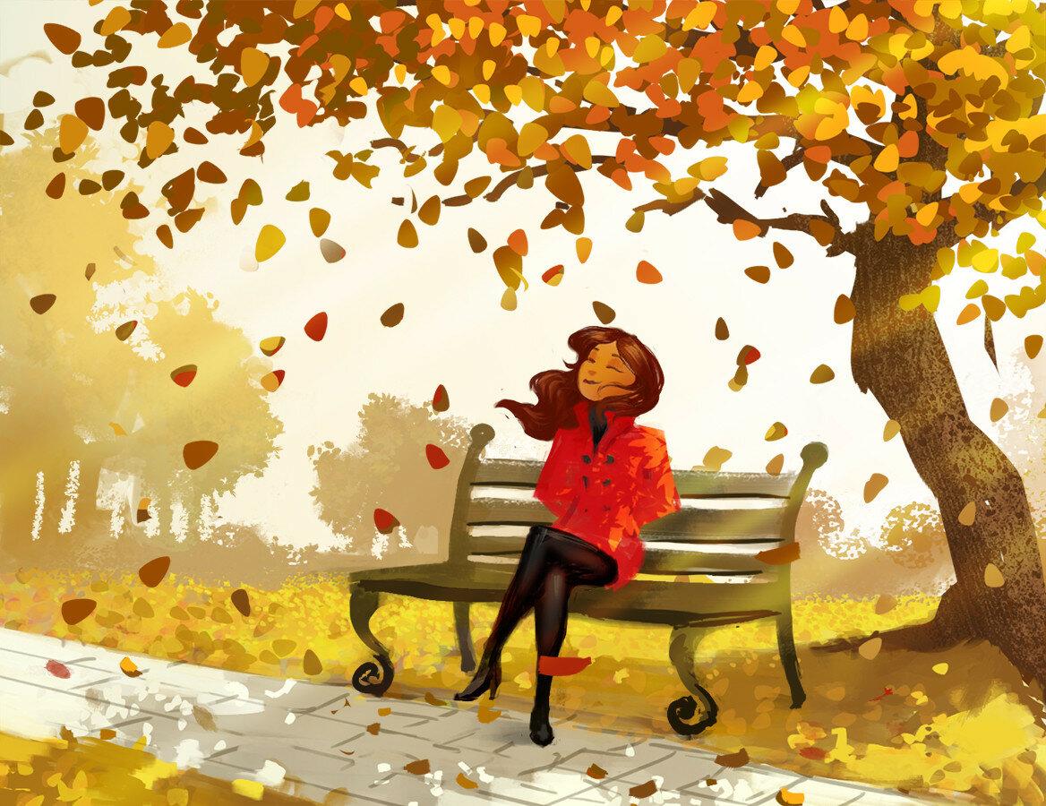 картинка осень а что теперь как известно