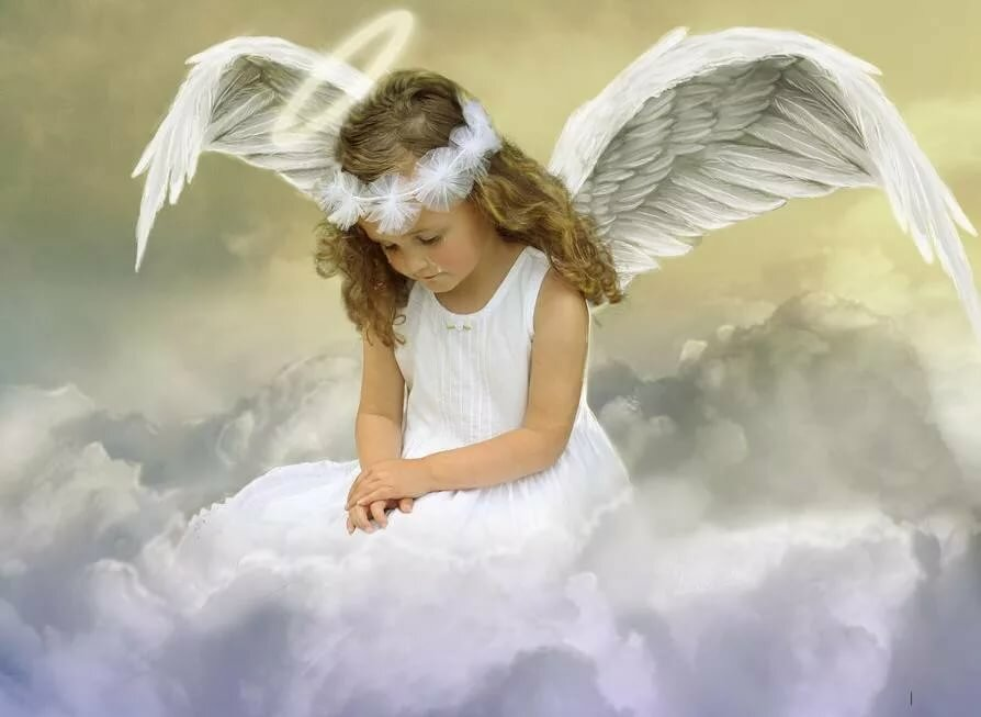 картинка обиженный ангелочек прохладный летний