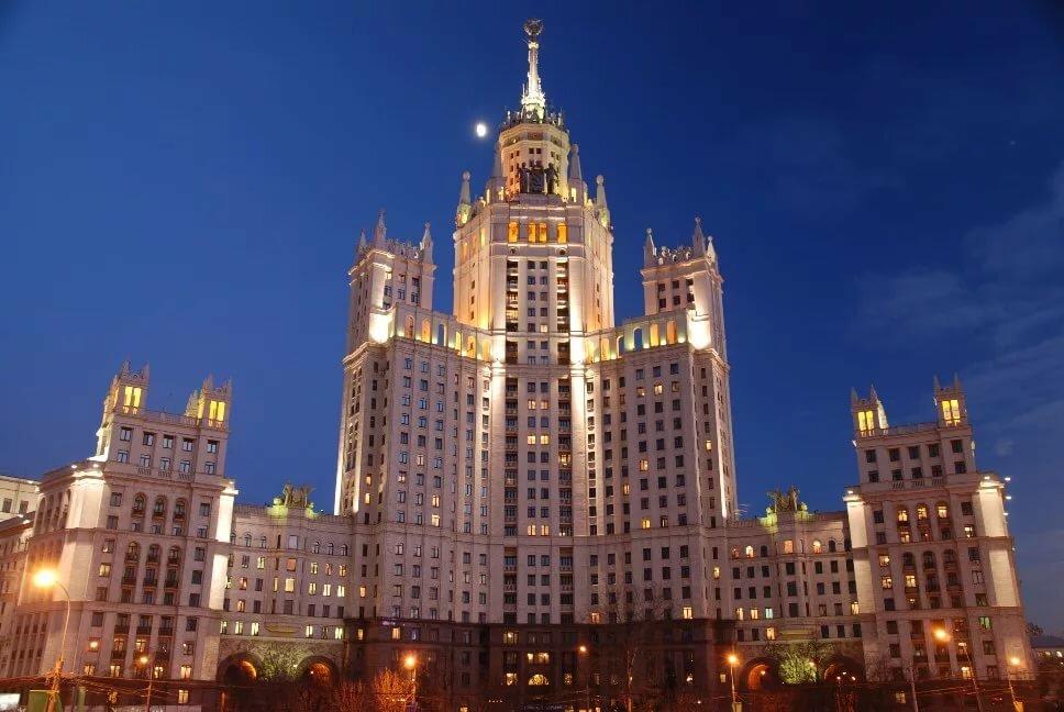 Московские высотки фото внутри