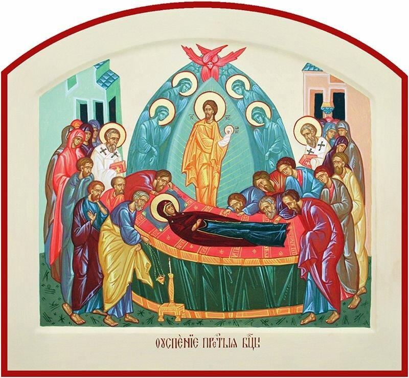 Картинки иконы успение пресвятой богородицы