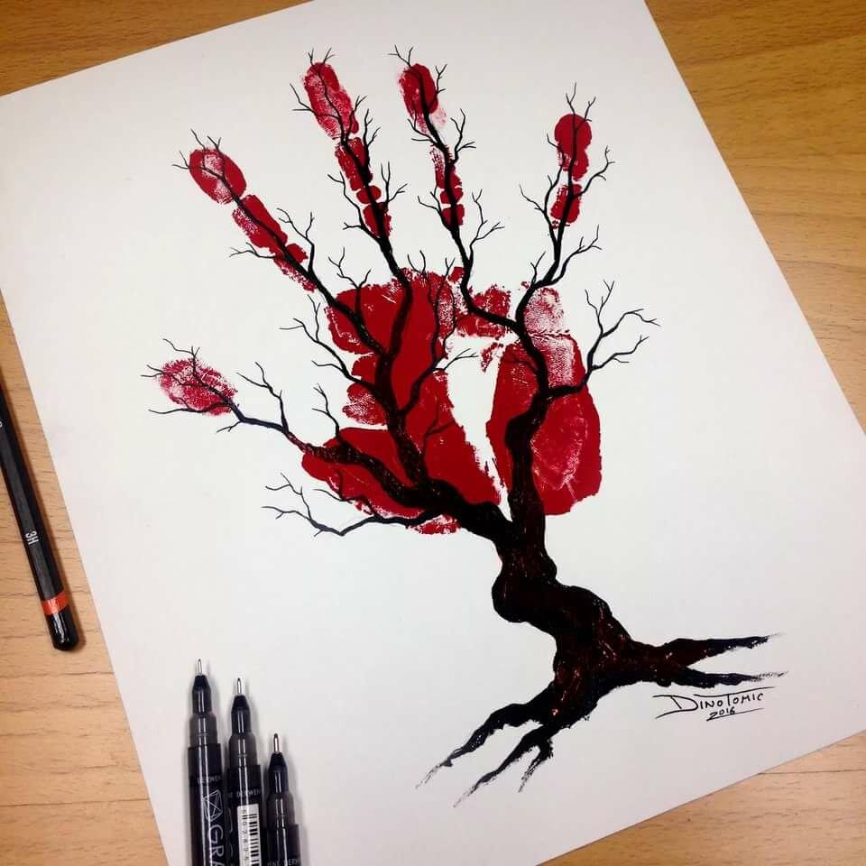Креативные и необычные картинки для срисовки