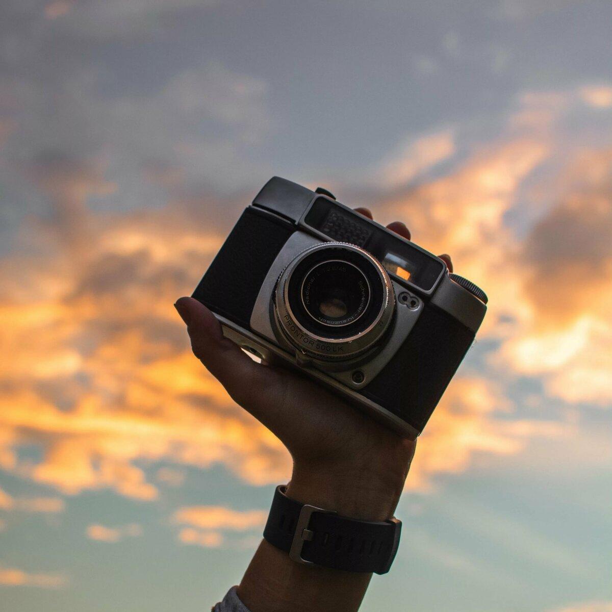 освобождения фотоаппарат фотографирует не видно изображения это